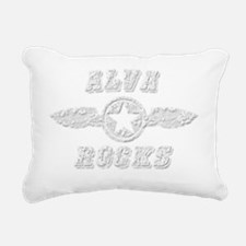 ALVA ROCKS Rectangular Canvas Pillow