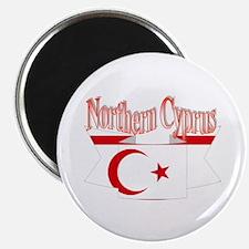 Northern Cyprus flag ribbon Magnet