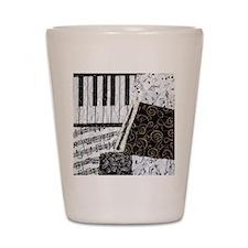 0505-sleeve-oboe Shot Glass