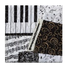 0505-sleeve-oboe Tile Coaster