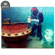 Commercial diver Puzzle