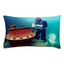 Commercial diver Pillow Case