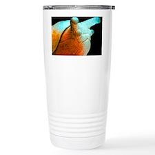 Coloured SEM of a marsh Travel Coffee Mug