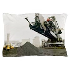 Coal supplies for a power station Pillow Case