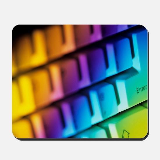 Computer keyboard Mousepad