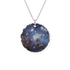Baby Blue Stars Necklace
