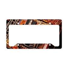 Computer circuit board License Plate Holder