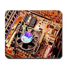 Computer circuit board Mousepad