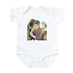 Boy, Dog & Radio Infant Bodysuit