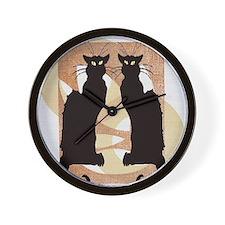 Chat Noir Wall Clock
