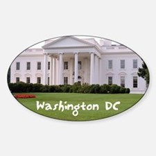 WashingtonDC_10X8_puzzle_mousepad_W Sticker (Oval)
