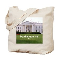 WashingtonDC_10X8_puzzle_mousepad_WhiteHo Tote Bag
