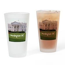 WashingtonDC_10X8_puzzle_mousepad_W Drinking Glass