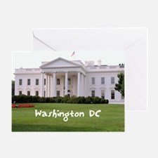 WashingtonDC_10X8_puzzle_mousepad_Wh Greeting Card