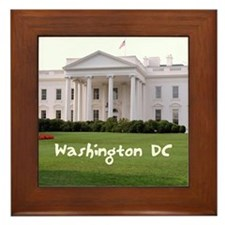 WashingtonDC_10X8_puzzle_mousepad_Whit Framed Tile