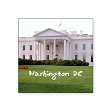 "WashingtonDC_10X8_puzzle_mo Square Sticker 3"" x 3"""
