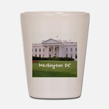 WashingtonDC_10X8_puzzle_mousepad_White Shot Glass