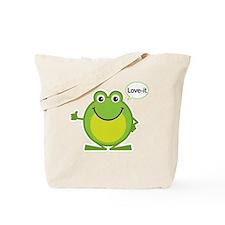 Love-it Frog Tote Bag