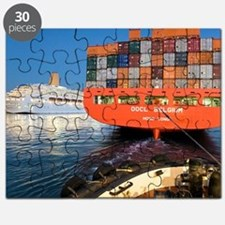 Container ship Puzzle
