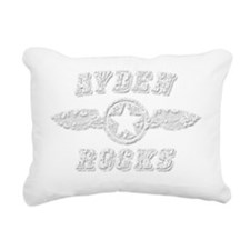 AYDEN ROCKS Rectangular Canvas Pillow