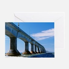 Confederation Bridge, Canada Greeting Card