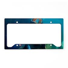 Commercial diver welding License Plate Holder