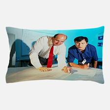 Computer programmers discuss software  Pillow Case