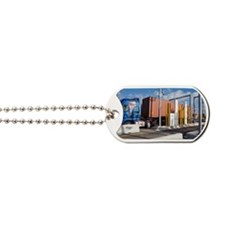 Container port security Dog Tags
