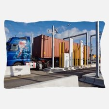 Container port security Pillow Case