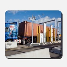 Container port security Mousepad