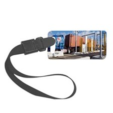Container port security Luggage Tag