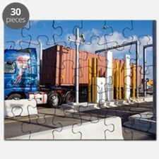 Container port security Puzzle