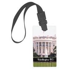 WashingtonDC_5.5x8.5_Journal_Whi Luggage Tag