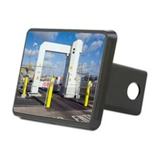 Container port security Hitch Cover