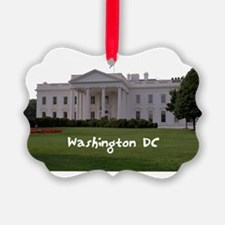 WashingtonDC_WhiteHouse1_Rectangl Ornament