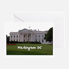 WashingtonDC_WhiteHouse1_Rectangle Greeting Card