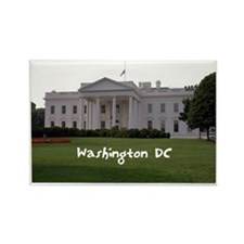 WashingtonDC_WhiteHouse1_Rectangl Rectangle Magnet