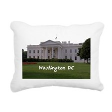 WashingtonDC_WhiteHouse1 Rectangular Canvas Pillow