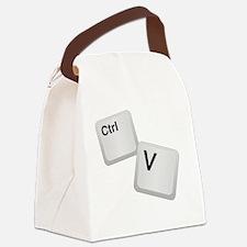 Control V, paste Canvas Lunch Bag