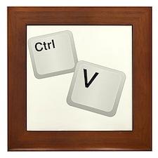 Control V, paste Framed Tile