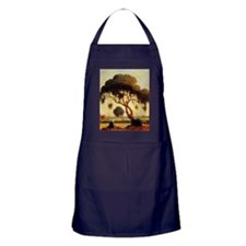 Woman Under Tree Apron (dark)