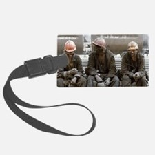 Coal miners Luggage Tag