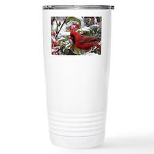 Christmas Cardinal Travel Mug