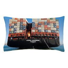Container ship Pillow Case