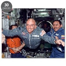Dennis Tito, first space tourist Puzzle