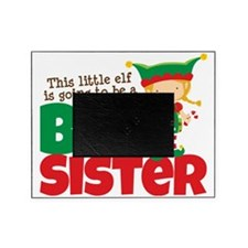 Elf going to be a Big Sister Picture Frame