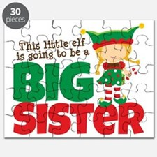 Elf going to be a Big Sister Puzzle