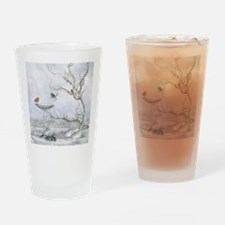 wf_shower_curtain Drinking Glass