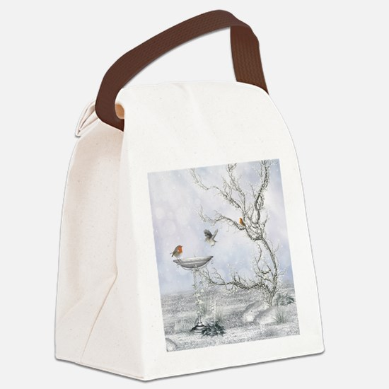 wf_shower_curtain Canvas Lunch Bag