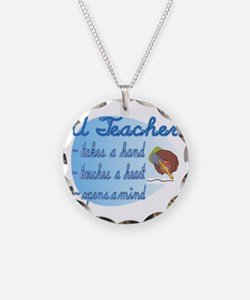 Teacher takes hand Necklace